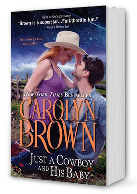 Just A Cowboy and His Baby Book Cover