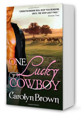 One Lucky Cowboy Book Cover