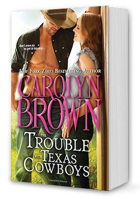 The Trouble with Texas Cowboys Book Cover
