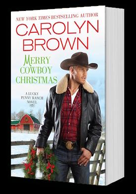Merry Cowboy Christmas Book Cover