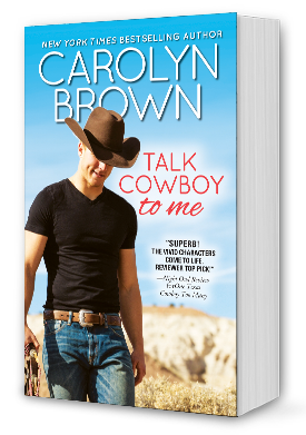 Talk Cowboy To Me Book Cover